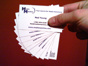 Click here to see our Business Card Gallery.